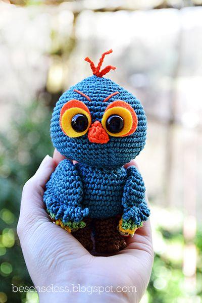 Owl       ♪ ♪ ... #inspiration_crochet #diy GB http://www.pinterest.com/gigibrazil/boards/