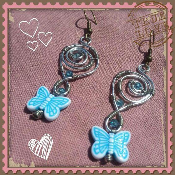 Boucled d'Oreilles papillon