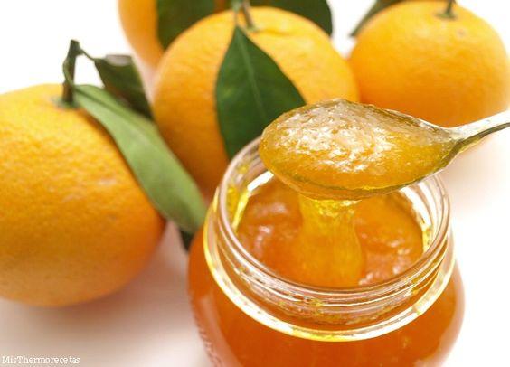 Mermelada de naranja - MisThermorecetas.com ༺✿Teresa Restegui http://www.pinterest.com/teretegui/✿
