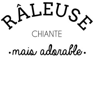 personnaliser tee shirt Râleuse