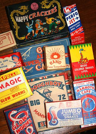 Fireworks Labels Collection
