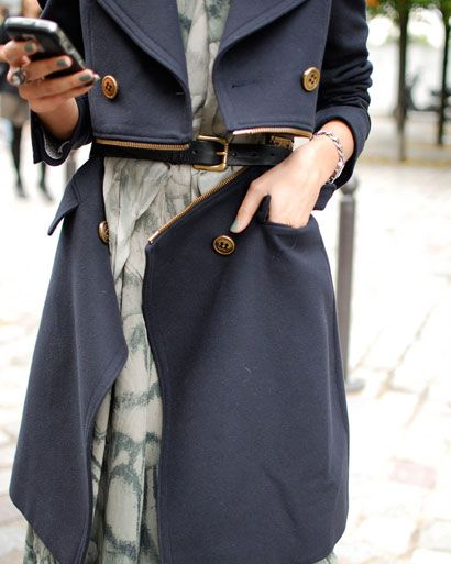 how insane and chic is this coat?!!!: Street Styles, Trench Coats, Women, Winter Coats