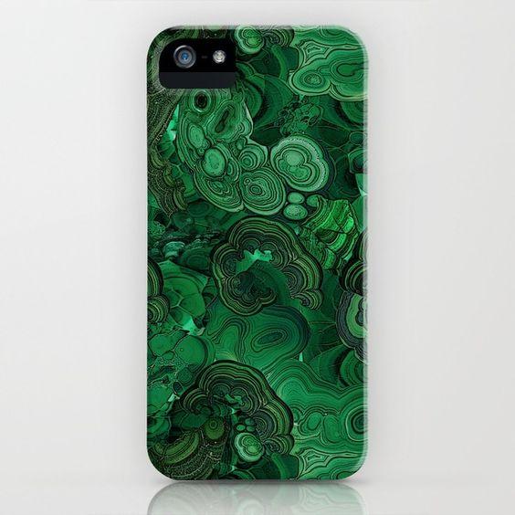 malachite iPhone & iPod Case: