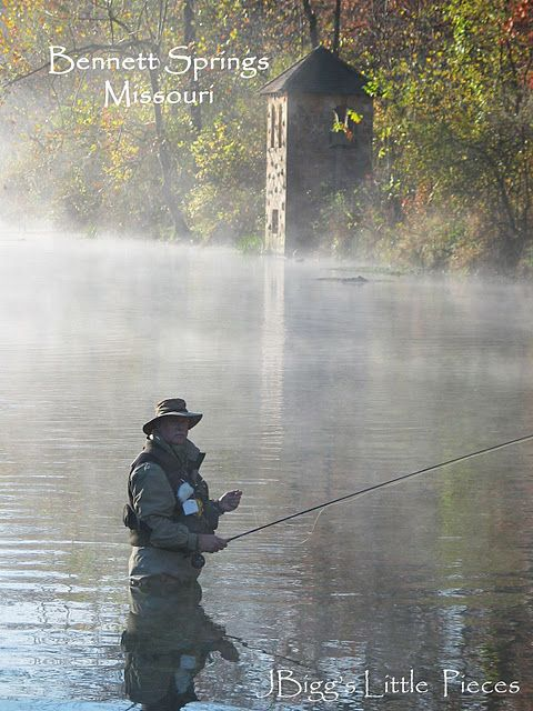 Bennett springs mo i love this place so environmental for Trout fishing in missouri