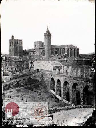 Casiano Alguacil. Vista de Sigüenza. 1862-1906