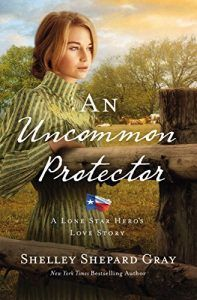 An Uncommon Protector by Shelley Shepard Gray.  Book 2: A Lone Star Hero's Love Story.  February 7, 2017 RELEASE DATE.  Overwhelmed by the responsibilities of running a ranch on her own, Laurel Tracey decides to hire a convict—a man who's just scary enough to take care of squatters and just desperate enough to agree to a one year post.:
