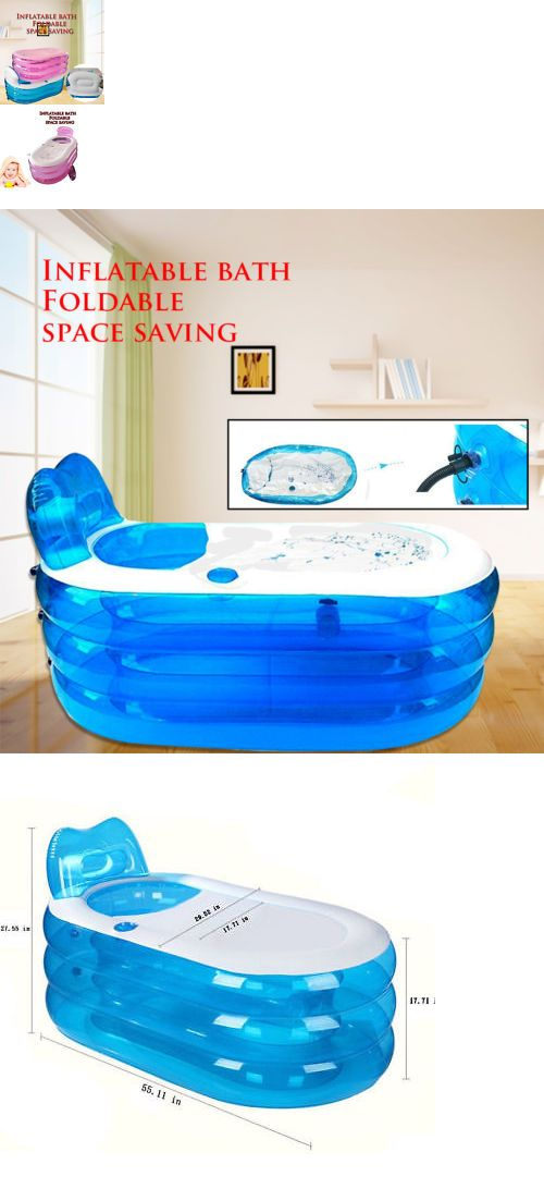 Details About 121cm Blowup Adult Spa Pvc Folding Portable Bathtub Warm Inflatable Bath Tub Portable Bathtub Bathtub Inflatable
