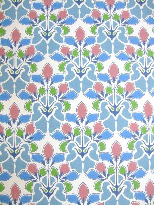 Jugendstil Stoffe Tapeten : Nouveau Art Deco Wallpaper