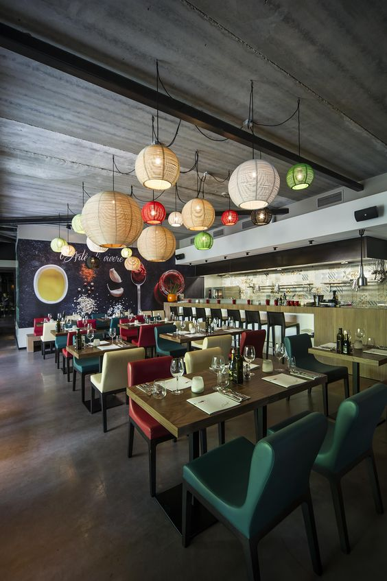Project Nandos Teesside Location Client Interior Design STAC Architecture Lighting Enigma