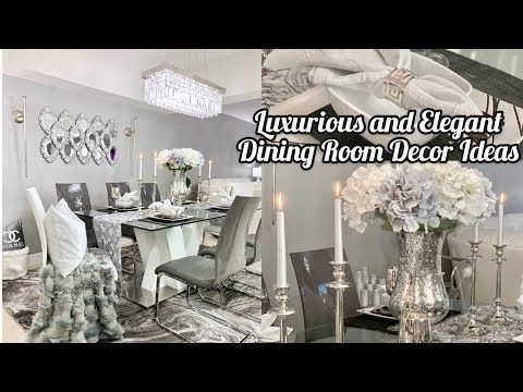 Dining Room Ideas Elegant Decor On A Budget How To Style Youtube Dining Room Decor Elegant Elegant Dining Room Dining Room Decor