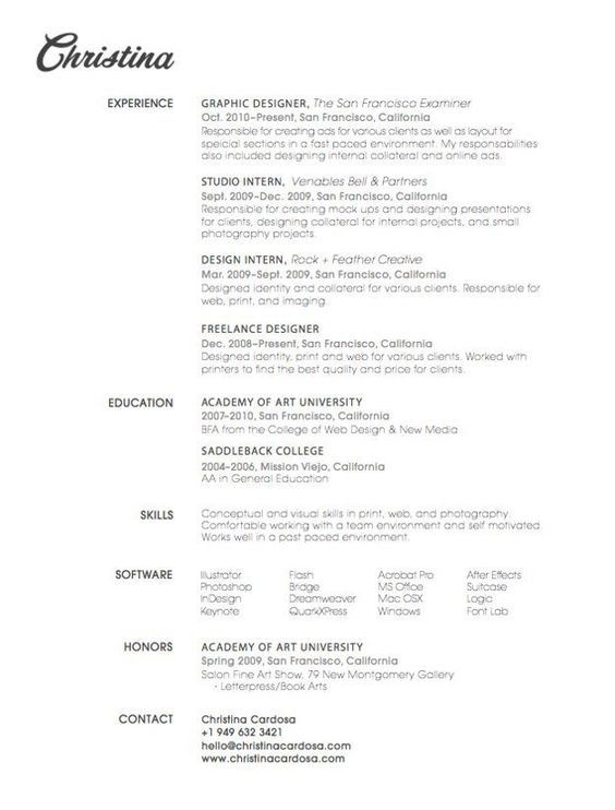27 Beautiful Résumé Designs Youu0027ll Want To Steal Graphic - resume wizard online