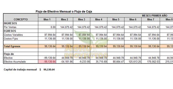 Ejemplo De Calculo De Capital De Trabajo Agroproyectos Como Calcular El Trabajo Calculadora