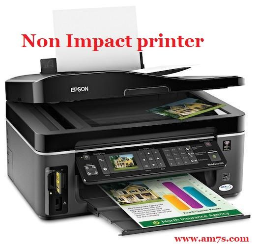 What Is Impact Printer All Types Of Impact Printer Am7s Inkjet Printer Printer Epson Printer