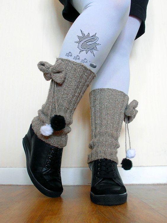 Comment tricoter les jambieres