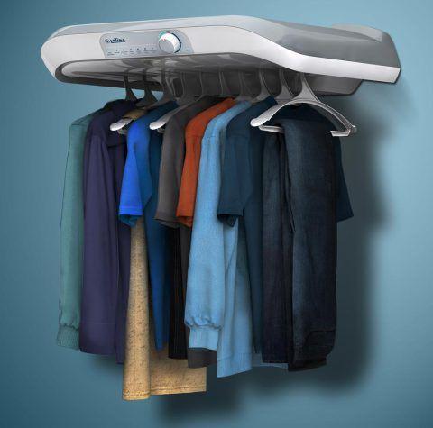 Secadora de roupas sr555. Recebeu 2º lugar na categoria eletroeletrônicos. Design de Ronis Paixão, Paulo Coli, Marcos.