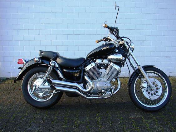 Yamaha Xv 535 Virago Tuv Neu Im Guten Zustand Motos Customizadas Motos Duas Rodas