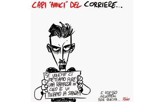 Infuria la pomemica: volume #CharlieHebdo col Corriere senza l'autorizzazione degli autori: http://www.comicus.it/index.php/mainmenu-news/item/58726-charlie-hebdo-corriere-a…