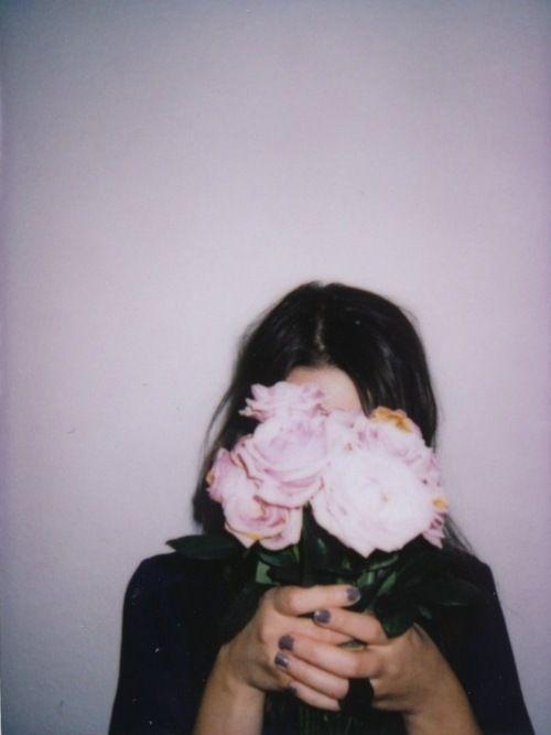 Grunge Indie | ... beautiful thin hipster Awesome vintage Grunge flower pink woman rose