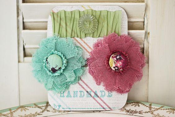 Easy flower clips