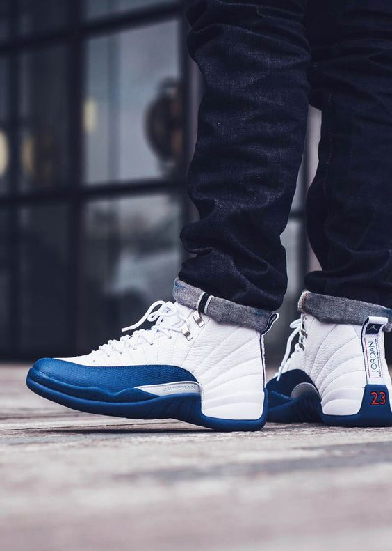nouveaux tomes york - Air Jordan 12 Retro in #frenchblue | Style | Pinterest | French ...