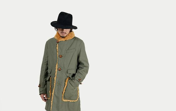 Engineered Garments Wool Forest Coat