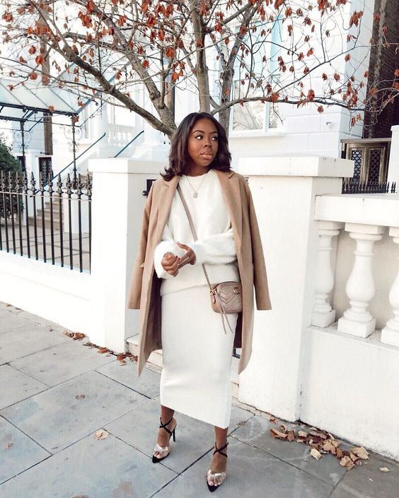 Onwijs Streetstyle | Autumn | All white | Beige coat | Inspiration | More JX-01