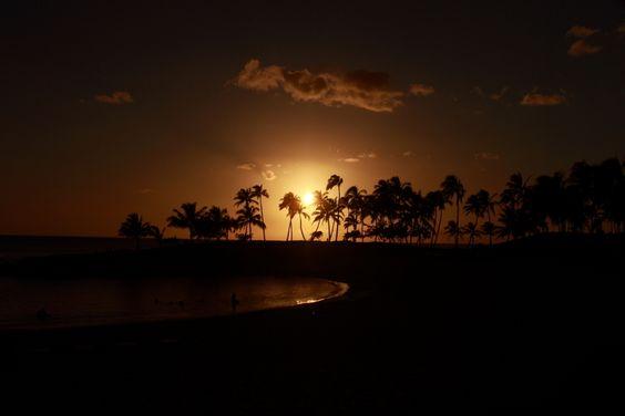 Ihilani at Night, Oahu, Hawaii