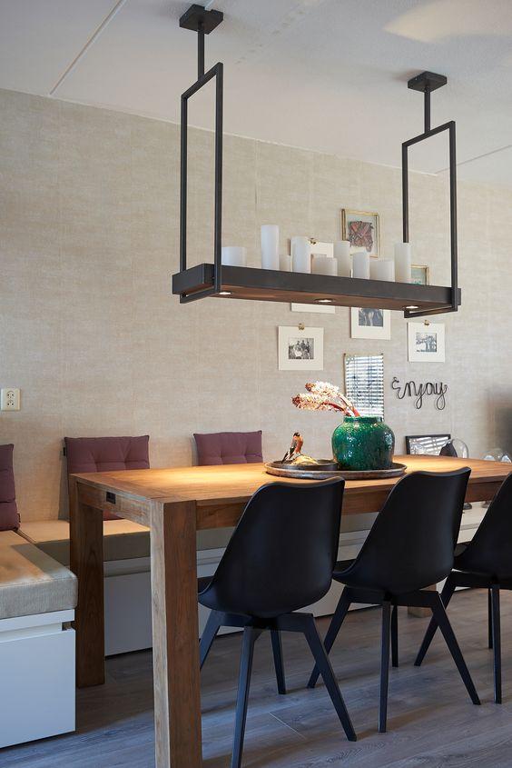 Hanglamp eetkamertafel beste inspiratie voor huis ontwerp for Verlichting eetkamertafel