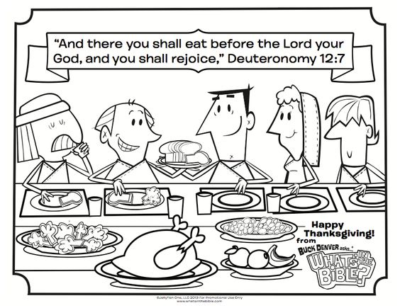 Thanksgiving Coloring Pages The Bible And Coloring Pages