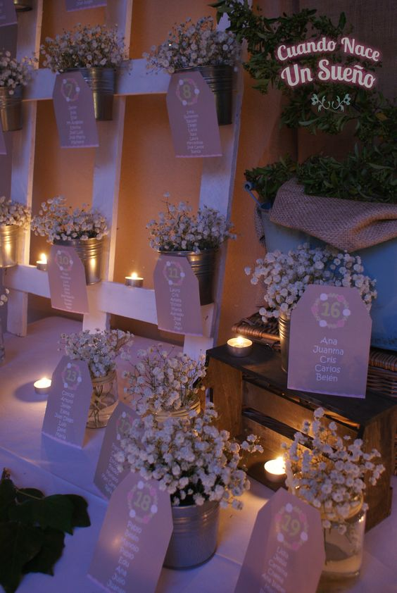 Servicio de decoraci n de bodas cuando nace un sue o - Decoracion de un salon ...
