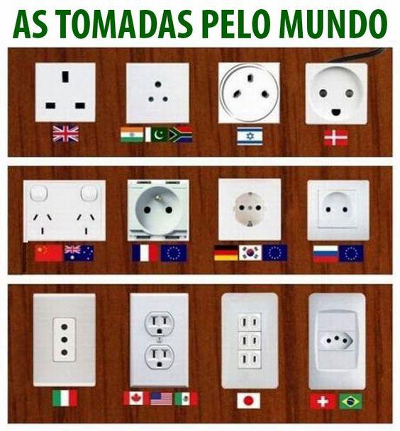leve o adaptador!: