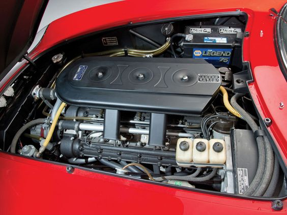 1967 FERRARI 275 GTB/4*S N.A.R.T. SPIDER Engine Bay