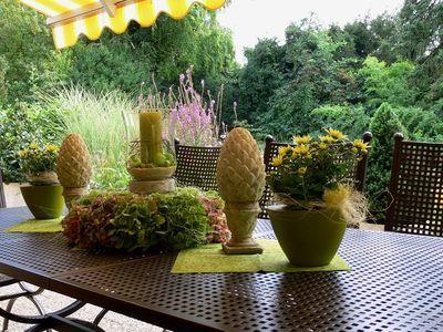 Tischdeko - Wohnen und Garten Foto