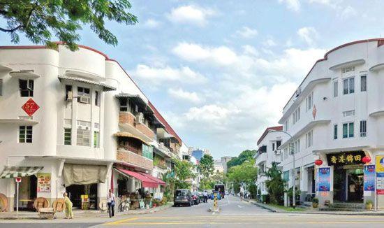 Tiong Bahru có nhiều quán cafe hấp dẫn.