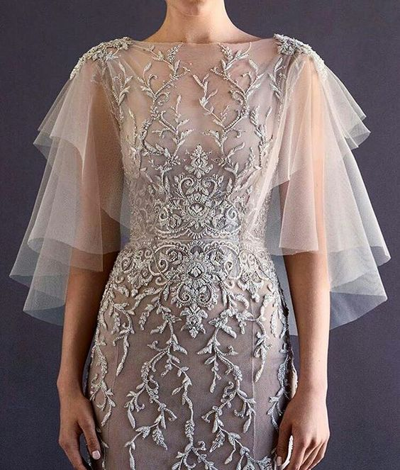 """pinkwinged: """" Paolo Sebastian couture """""""