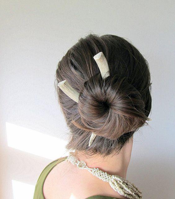 Antler Hair Sticks