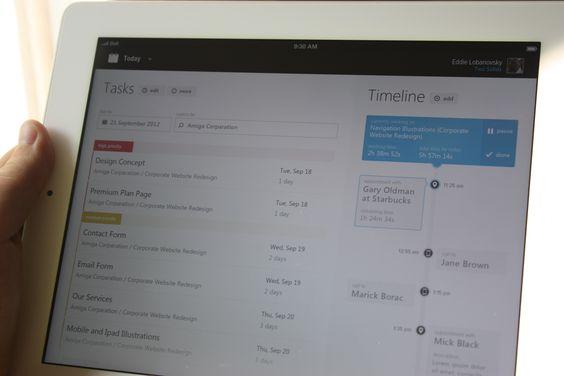 Timeline + Tasks Concept