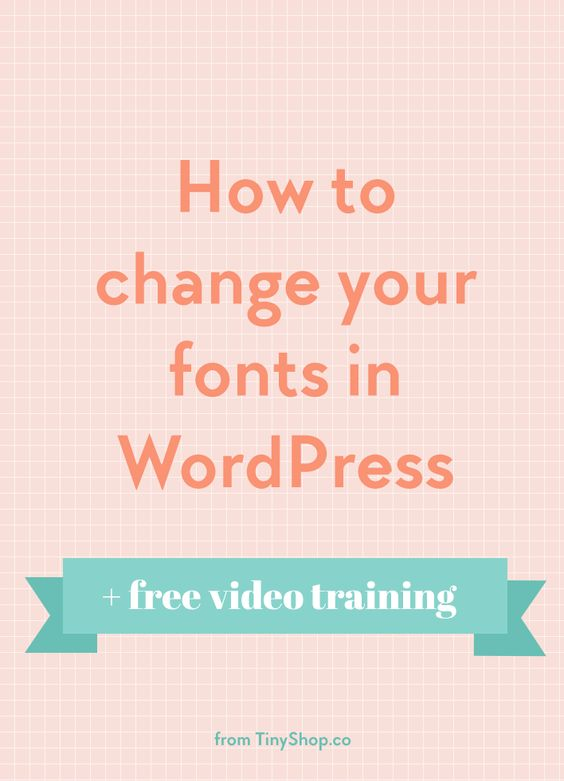 How to change fonts in WordPress. I was playing around with the fonts on one of my sites and decided to turn it into a free video tutorial. This applies to any WordPress.org site and explains how to import open source fonts from Google.