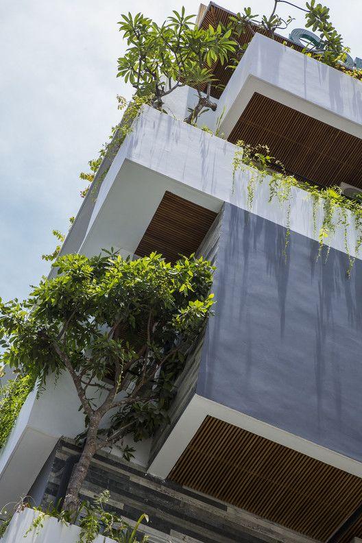 Gallery Of Babylon Garden Condotel Alpes Gdb 23 In 2020 Green Architecture Green Facade Hotel Architecture