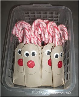 Site is in German-Rudolph Candy Canes