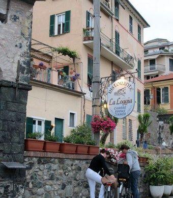 La Loggia restaurant in Levanto, Italy. (From: Photos: 13 Travel-Inspiring Scenes from Italy's Cinque Terre)