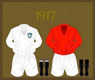 Uniforme da Seleção Brasileira de futebol de 1917 #copadomundo #Brazil2014 #copade2014 #
