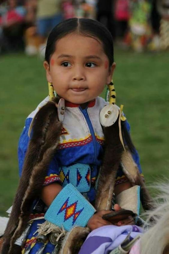 Beautiful little Pow Wow Dancer