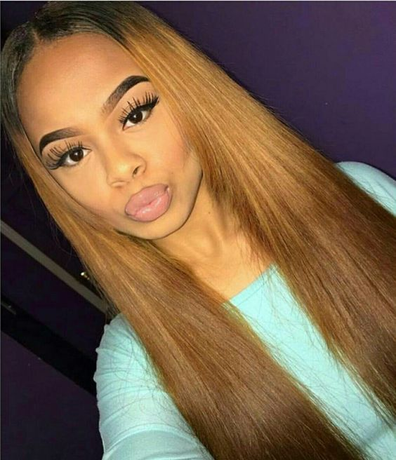 Brazilian Straight Hair Honey Blonde 27 Human Hair 3pcs