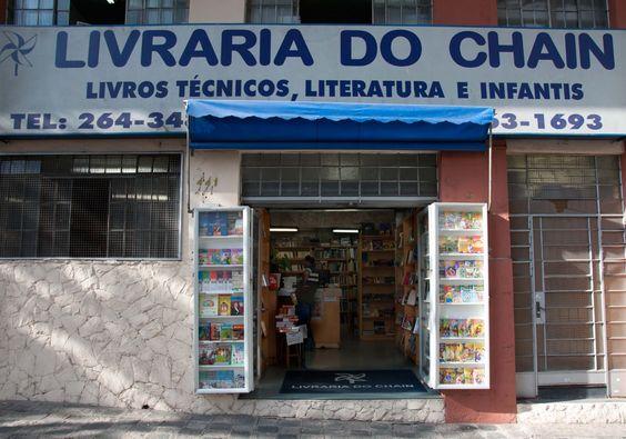 Livraria do Chain.  www.livrariadochain.com.br/ Rua General Carneiro, 441 - Alto da Glória, Curitiba - PR, 80060-150. (41) 3264-3484