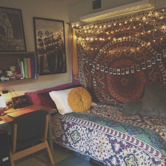 gallery for artsy hipster bedroom ideas