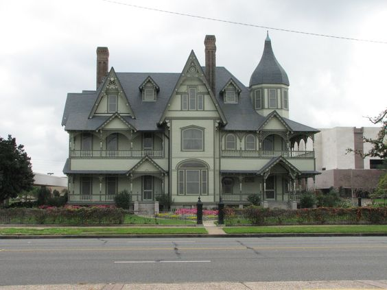 W H Stark House, Orange, Texas