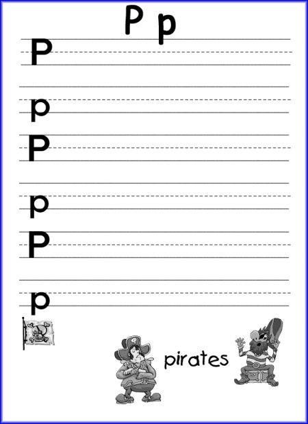Number Names Worksheets : letter p worksheets for preschool ~ Free ...