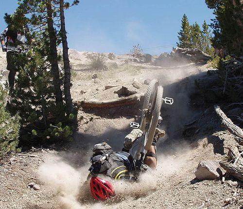 Mountain Bike Crash!!! I know his pain, do you? If not you ...
