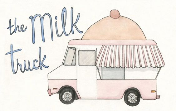 The Milk Truck - another great idea. They create a mobile breastfeeding unit that allows mothers to feed their babies in places where they have been discouraged - restaurants, shopping malls, public spaces, etc. Babies should be able to eat anywhere. And everywhere.
